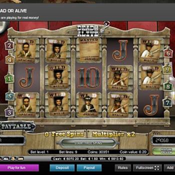 Netent Slot Spiele Dead or Alive