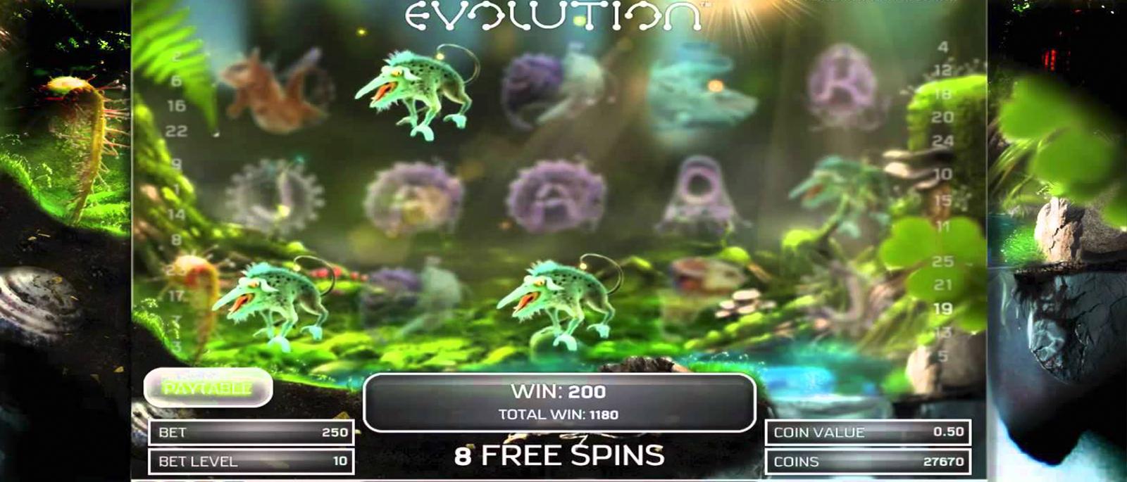 EVOLUTION – EINFÜHRUNG ZU DEM VIDEOSPIEL