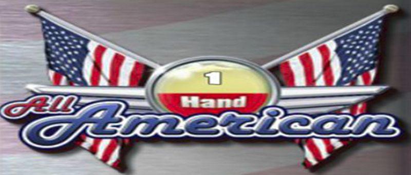 All american 1 hand Poker