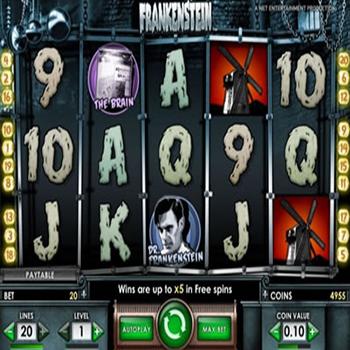 Slot Spiele von Netent Frankenstein