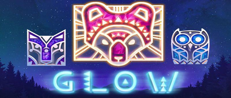 Netent Glow Slot Spiel