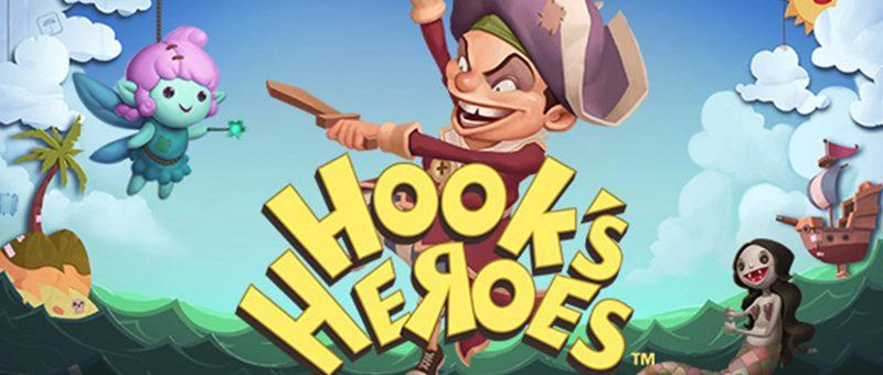 Hooks Heroes Netent Slot Spiel