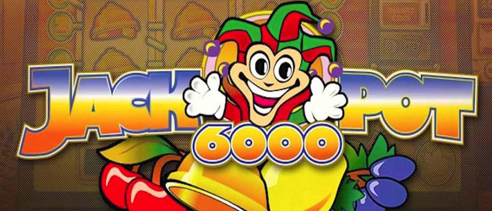 Jackpot 6000 Net Entertainment Slot Spiel