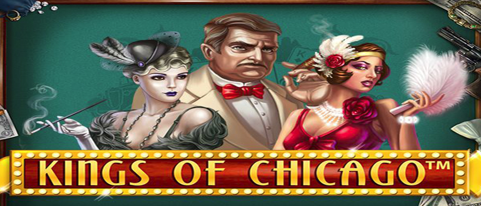 Kings of Chicago Net entertainment Videospielautomat