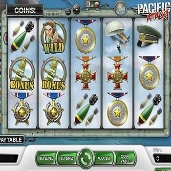 Slot Spiel Pacific Attack von Netent