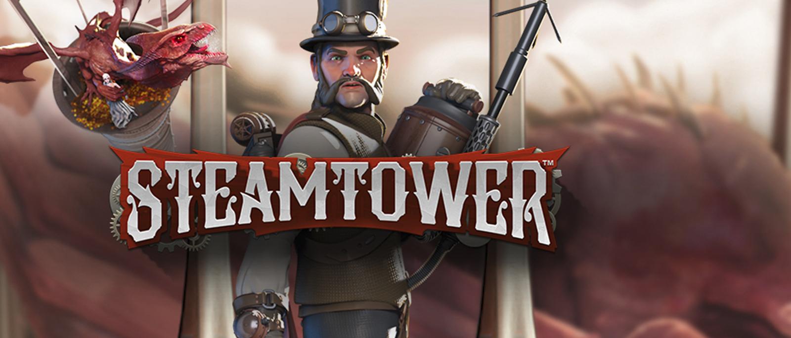 Steam Tower Netent Slot Spiel