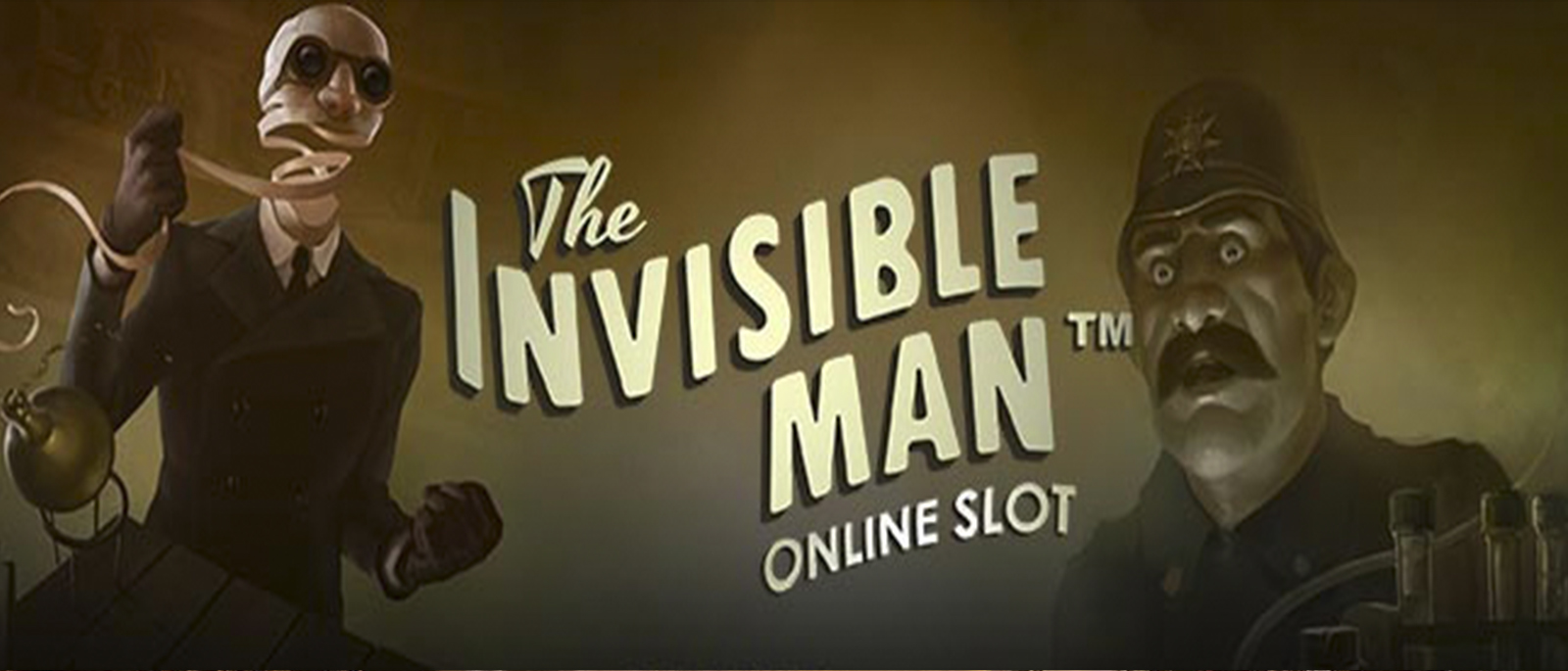 The invisible man Video Slot Netent