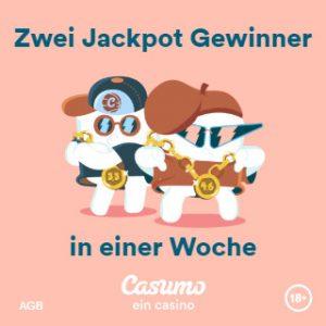 Casumo online kasino Jackpot Spielen
