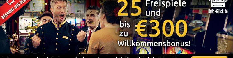 Druck Gluck willkommen bonus