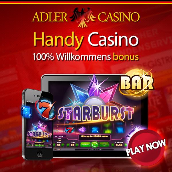 Adler Casino Starburst Bonus