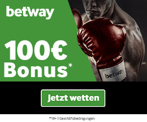 Betway Sport Wetten Boni