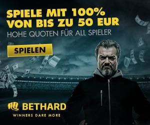 Bethard Casino Boni
