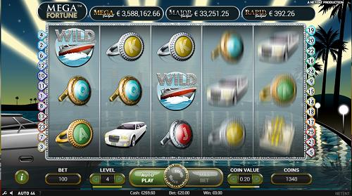 Mega Fortune Progressive Jackpot Spielen