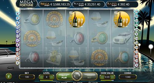 Mega Fortune Spiele, Jackpot Slots