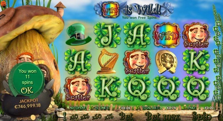 Irish Riches Slot Spiele Bonus Games