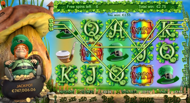 Irish Riches Slot Spiele Winline
