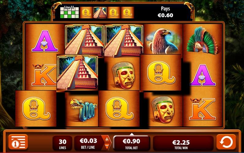 Montezuma Spielautomat @ 888 Casino