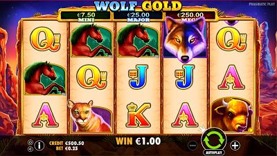 Wolf Gold Slotmaschinen