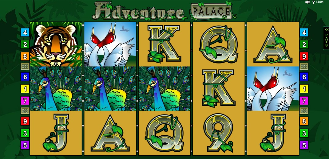 Adventure Palace Slot Spiele