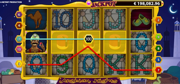 Arabian Nights Netent Slot Spiele