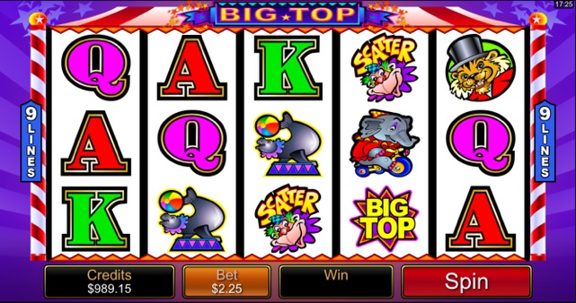 Big Top Slot Spiele