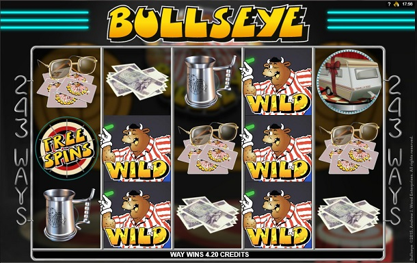 Bullseye Slot Spiele