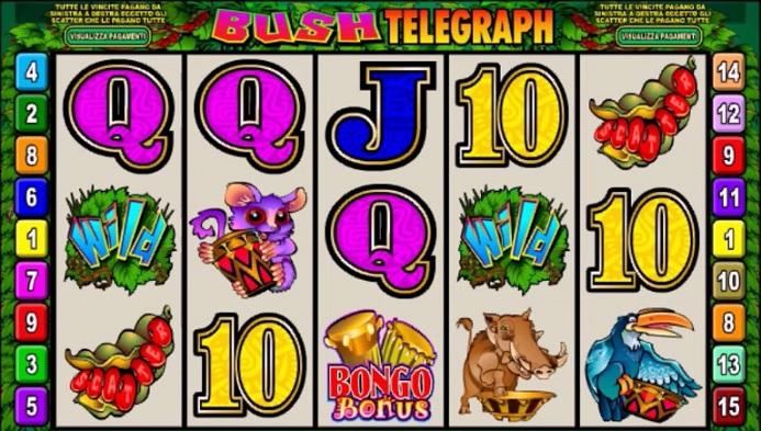 Bush Telegraph Slot Spiele