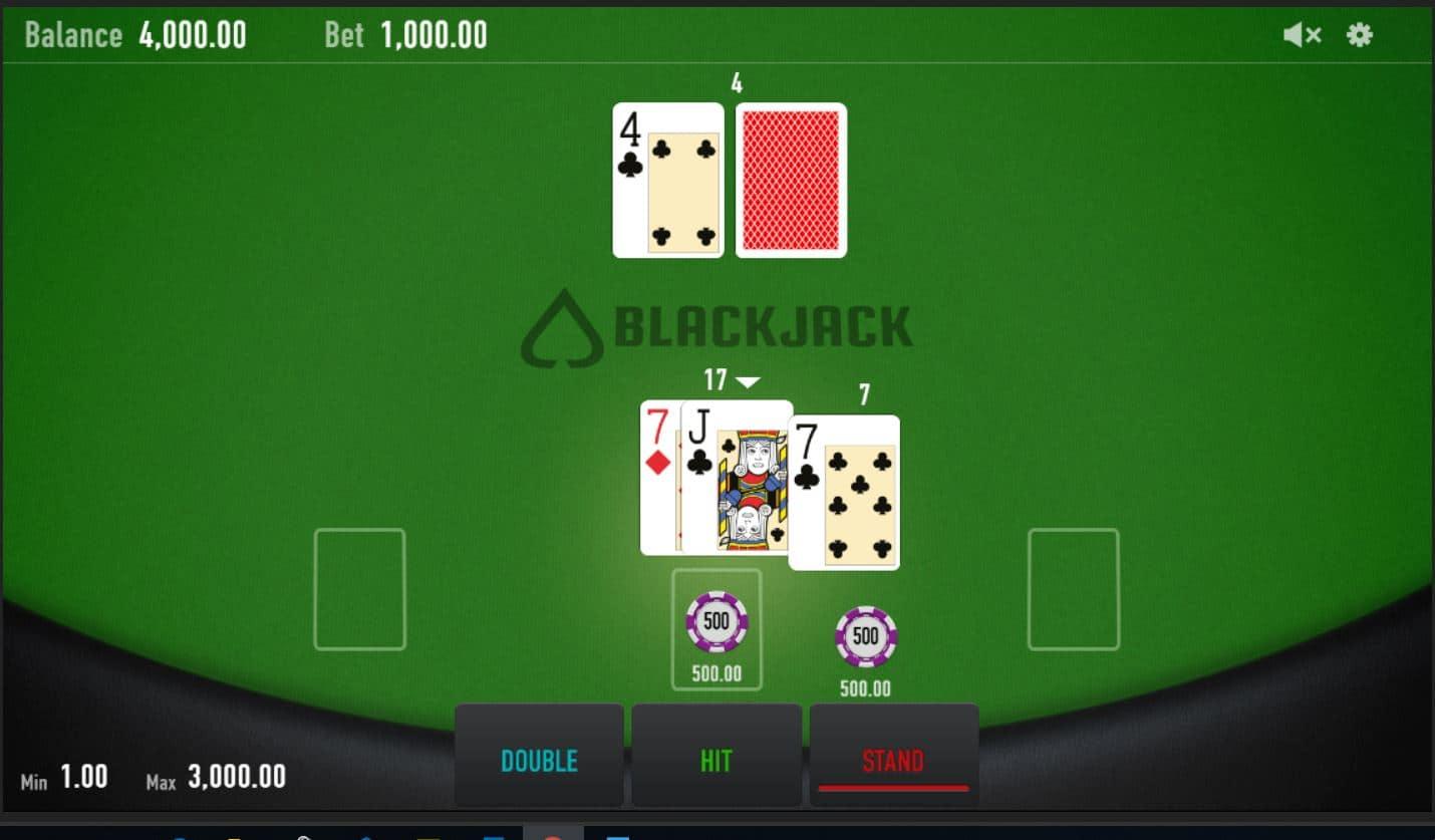 Split Card Black Jack