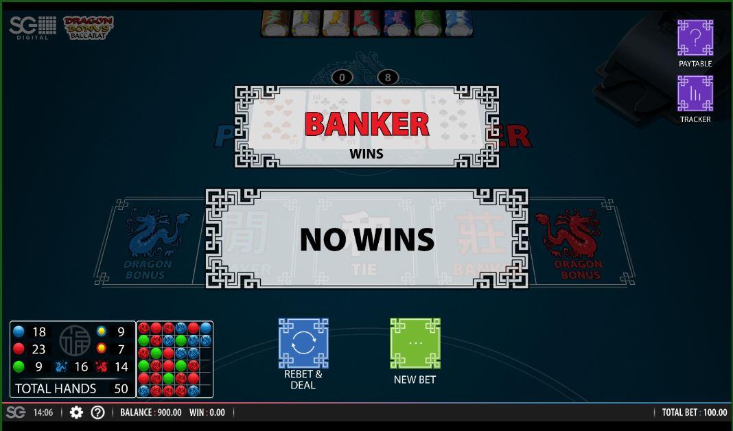 Live Baccarat Banker win
