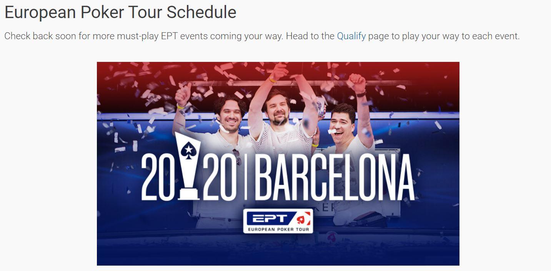 Live Poker Barcelona 2020