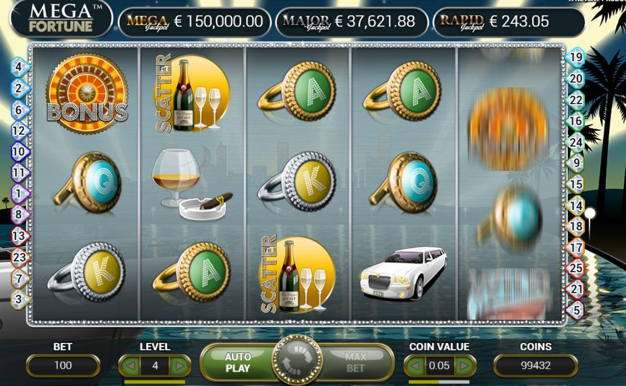 Mega Fortune Jackpot online Slot Spiel