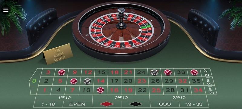 Online Roulette Tische