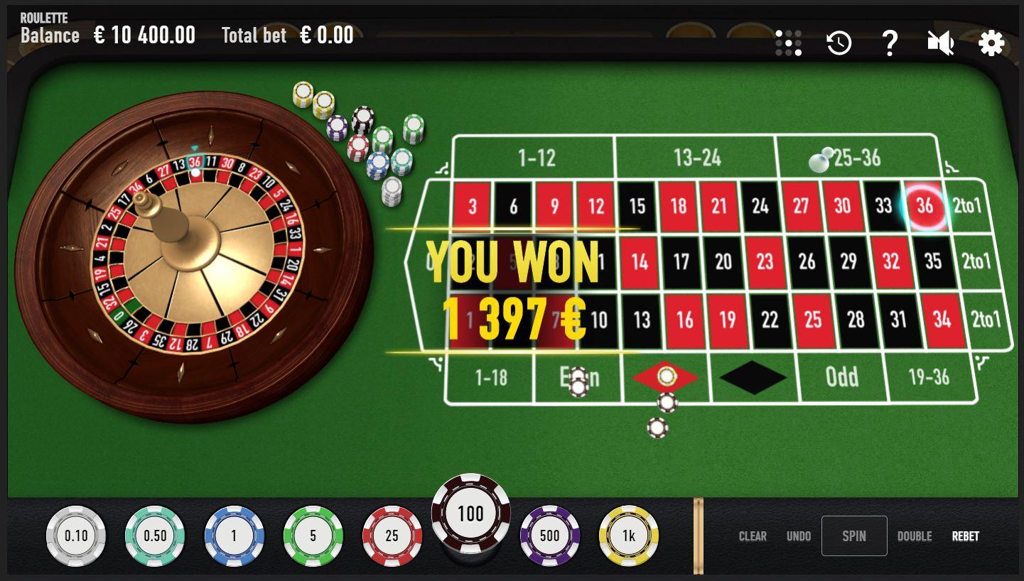 garantierter gewinn beim roulette