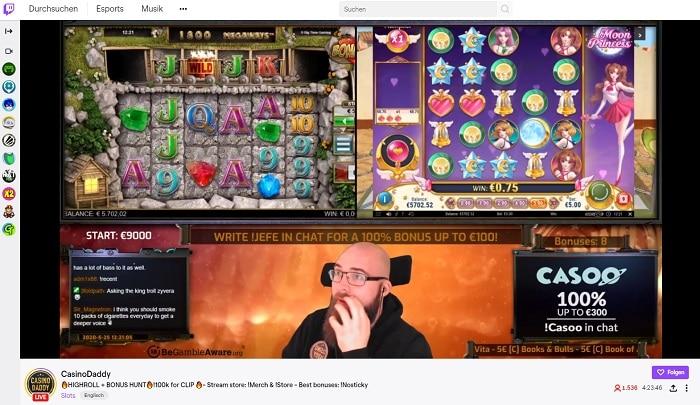 Twitch Casino Stream